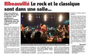 article Rock Sympho II Ribeau