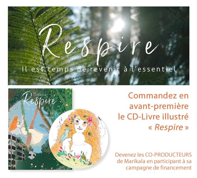 Album livre - Respire